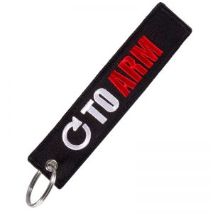 Turn to arm key tag